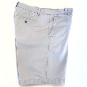 Other - Men's 32/10 Khaki Flat Front Cotton Shorts